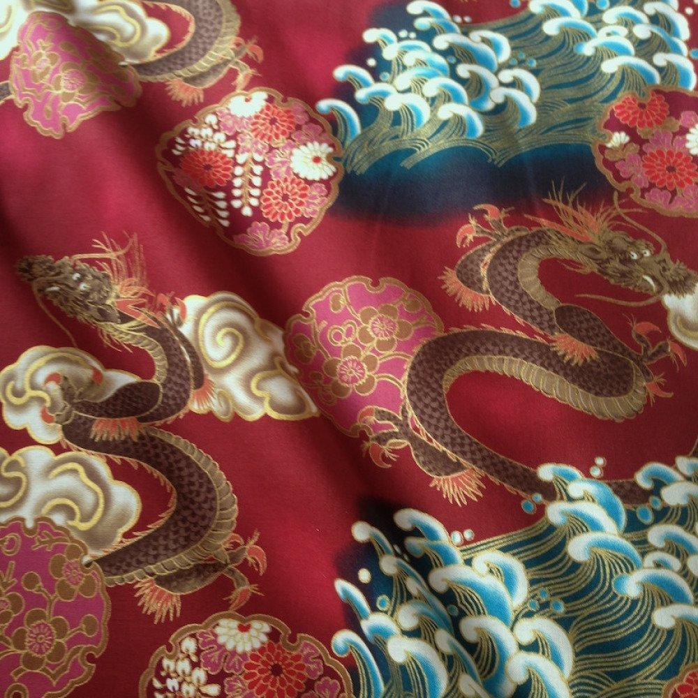 tissu japonais motif traditionnel