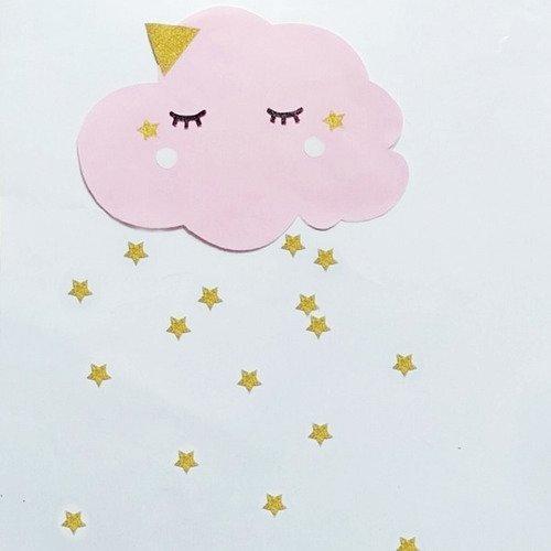 stickers nuage decoration murale