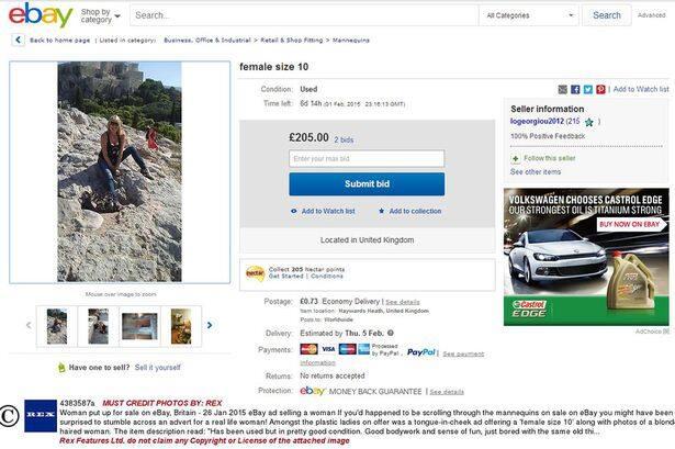Elle se met en vente aux enchères sur ebay pour trouver l'homme de sa vie