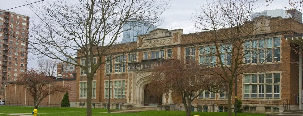 Central Secondary School At Dufferin Avenue And Waterloo Street In London Is Rated The