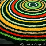 Autumn Forest Round Rug Crochet Pattern 057