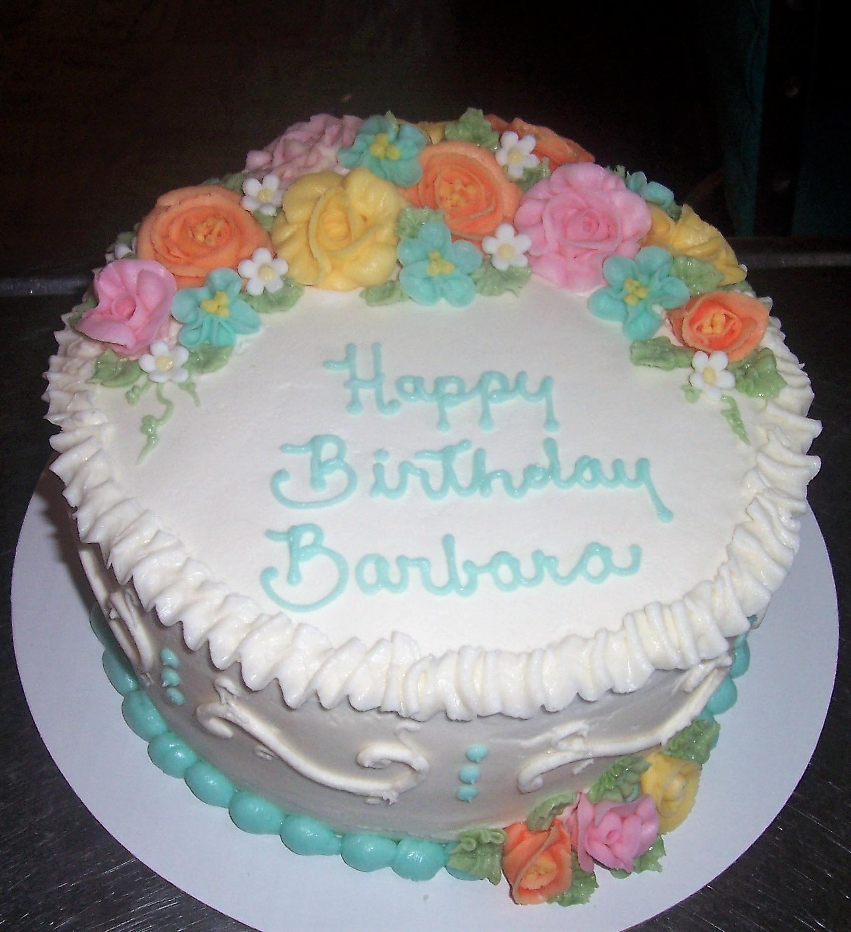 Birthday Barbara Cake Decorating Community Cakes We Bake