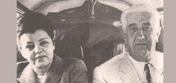 Džemal Bijedić sa suprugom Razijom - undefined