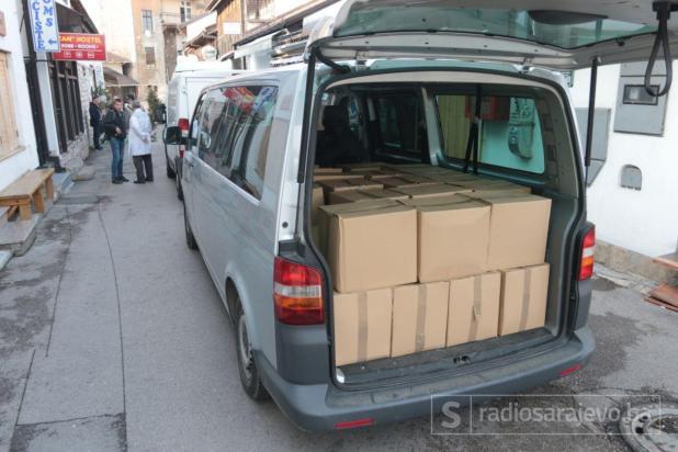 Foto: Dženan Kriještorac / Radiosarajevo.ba/Sarajevo: Donacija za Rogaticu od novca Agana Hodžića