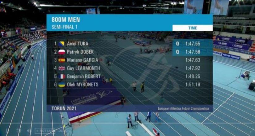 Amel Tuka se plasirao u finale - undefined
