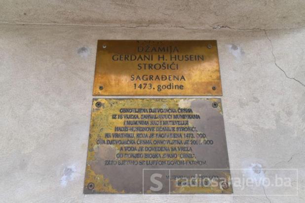 Gerdani hadži Husejnovoj džamiji u Strošićima - undefined