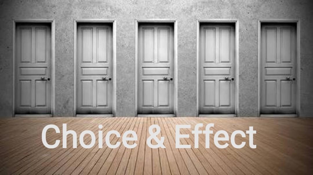 Choice & Effect Art Work