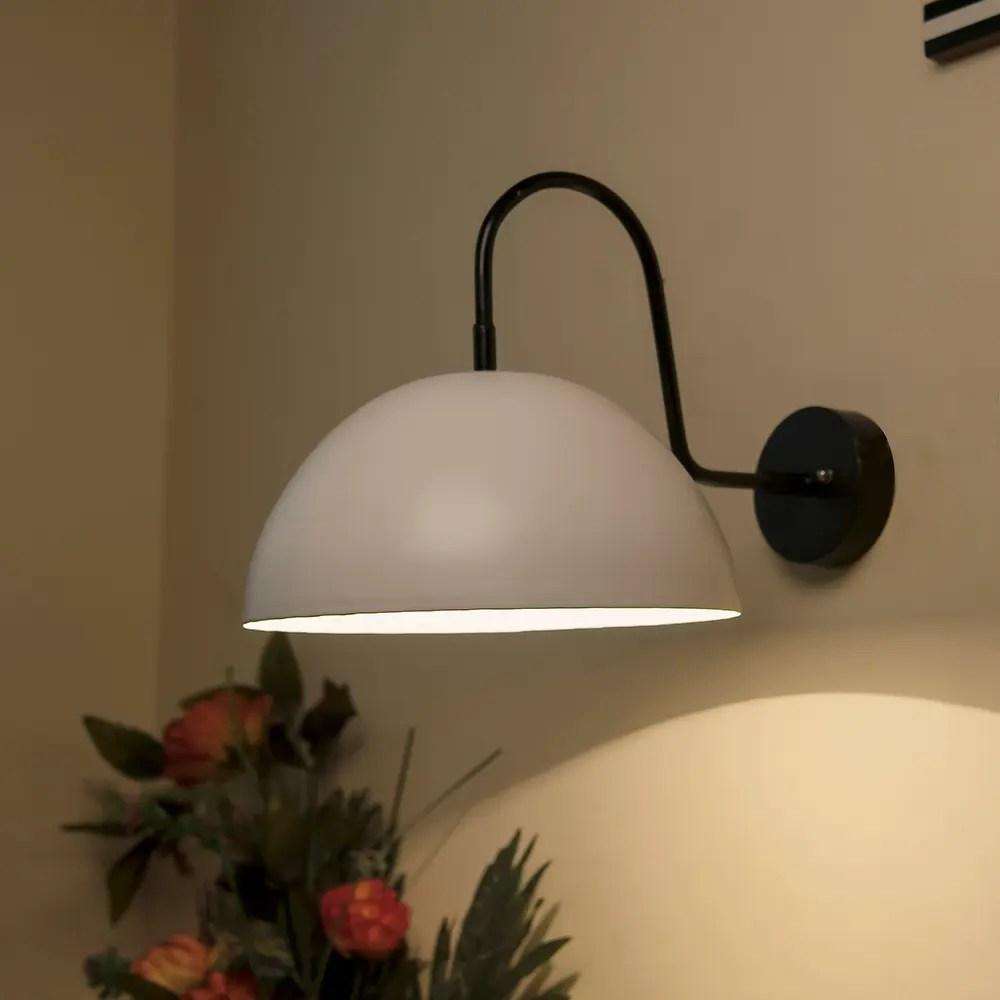 buy metallic white pendant 10 wall sconce gooseneck retro wall light fixtures online evok