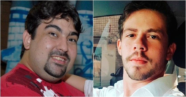 Junno, que ficou ferido no acidente, e João Vitor, que morreu no local