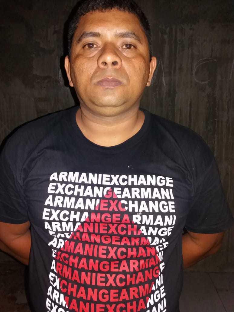 Marcelo Negão, suspeito de assaltos a bancos