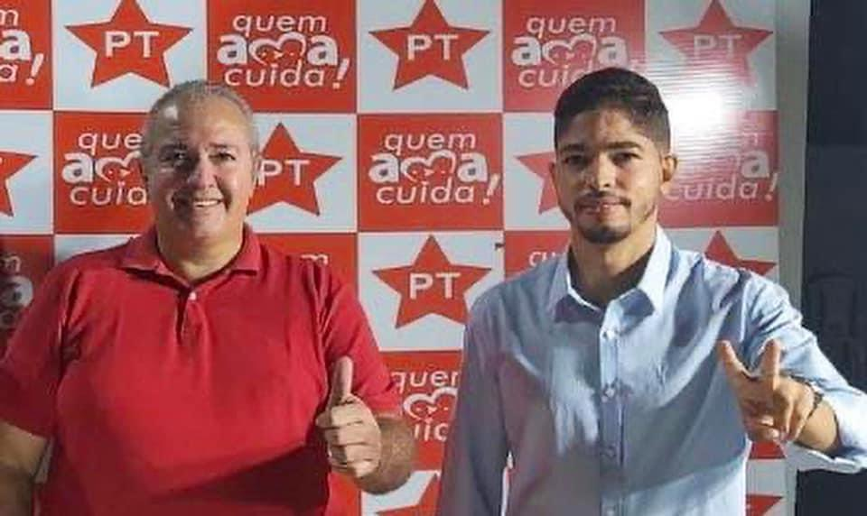 Ubiratan e o prefeito Felipe Dias