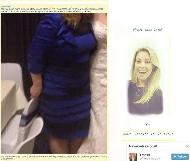 What Colour Is This Dress White And Gold Or Black And Blue