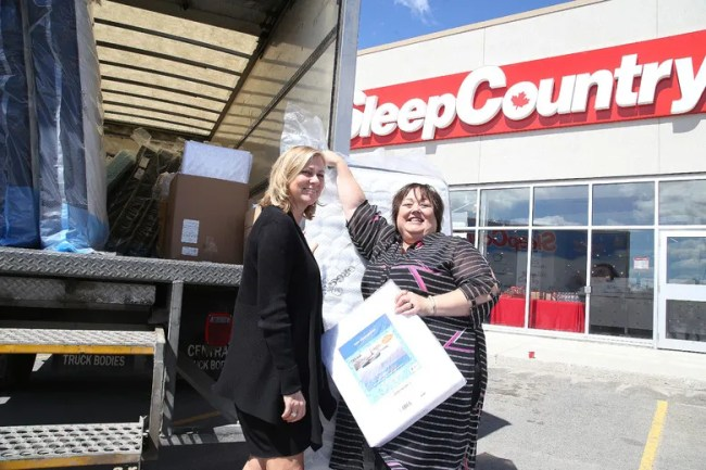 P Sleep Country Canada Co Founder And Executive Chair Christine Magee