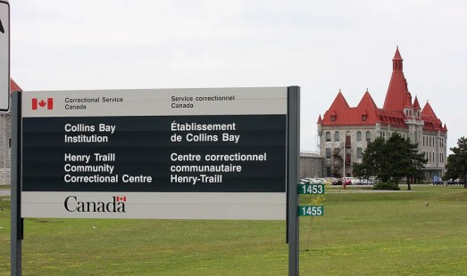 <p>A view of Collins Bay Institution in Kingston on Thursday August 20 2015. On Aug. 5 a drone dropped contraband over the prison walls. Ian MacAlpine/Kingston Whig-Standard/Postmedia Network.