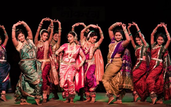 Lavani Dance - A to Z Blogging