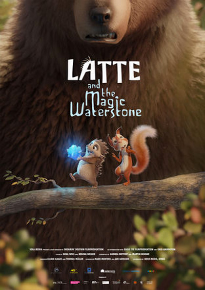 Latte & the Magic Waterstone (2019) (Animation)