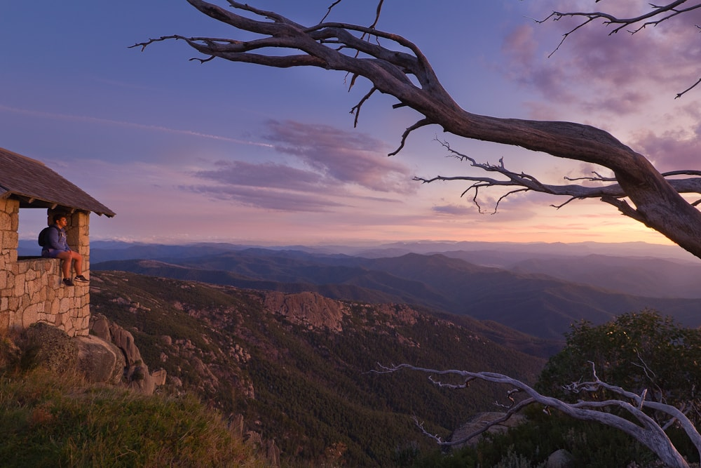 Casey Stephens Mount Buffalo Victoria mountains