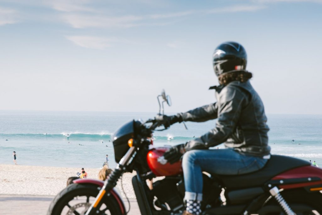 An Urban Adventure // Sydney (NSW) Henry Brydon, Photo Daniel Bolt, motorbike, biker, waves, surfers, beach