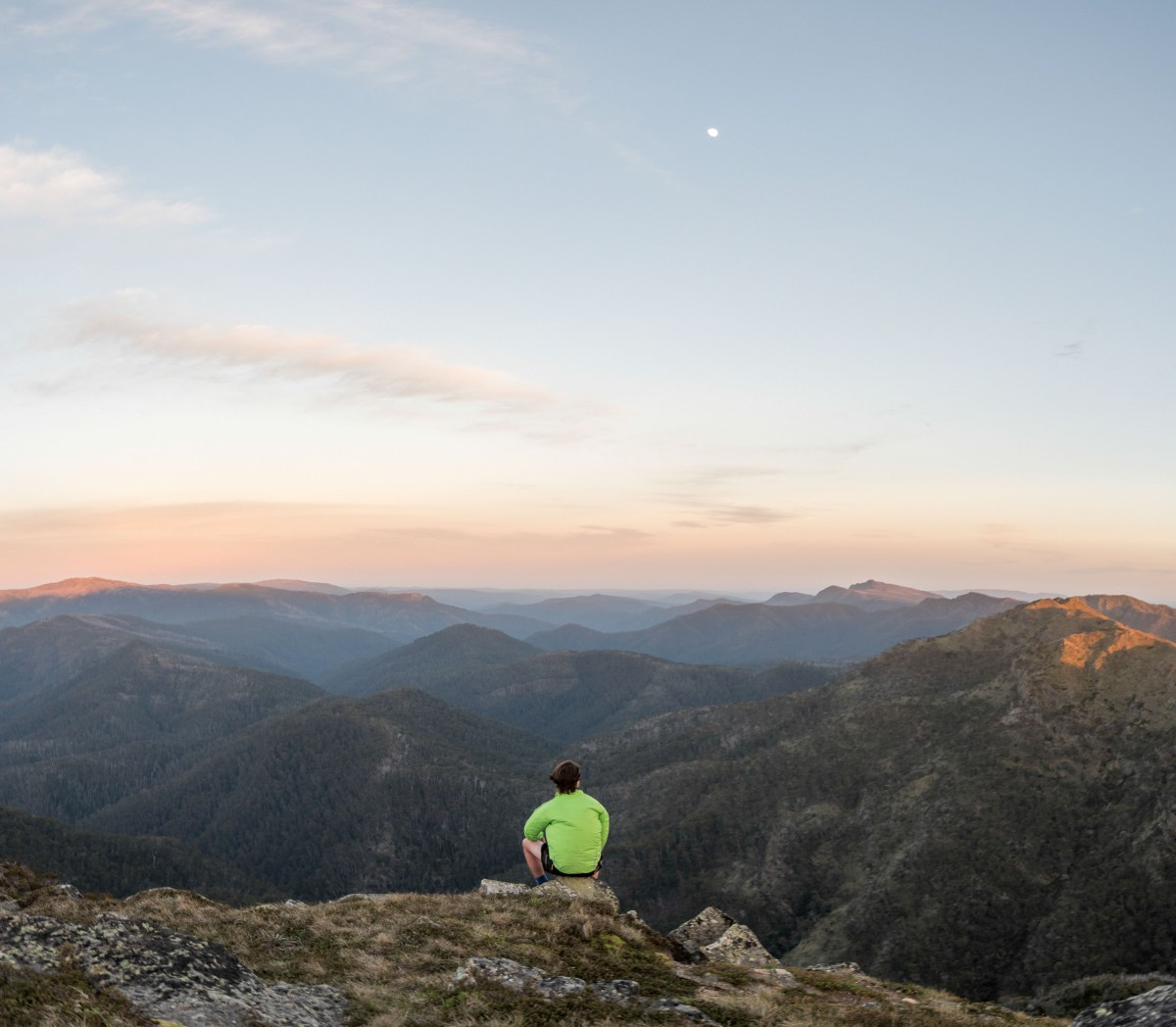 Victoria Lachie Thomas Victorian High Country Mt. Howitt Mountain sunset sunrise