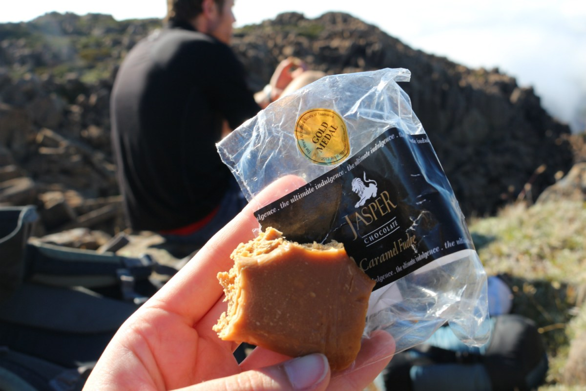 Tasmania Local Food Georgina Smyth, cake, packet, picnic