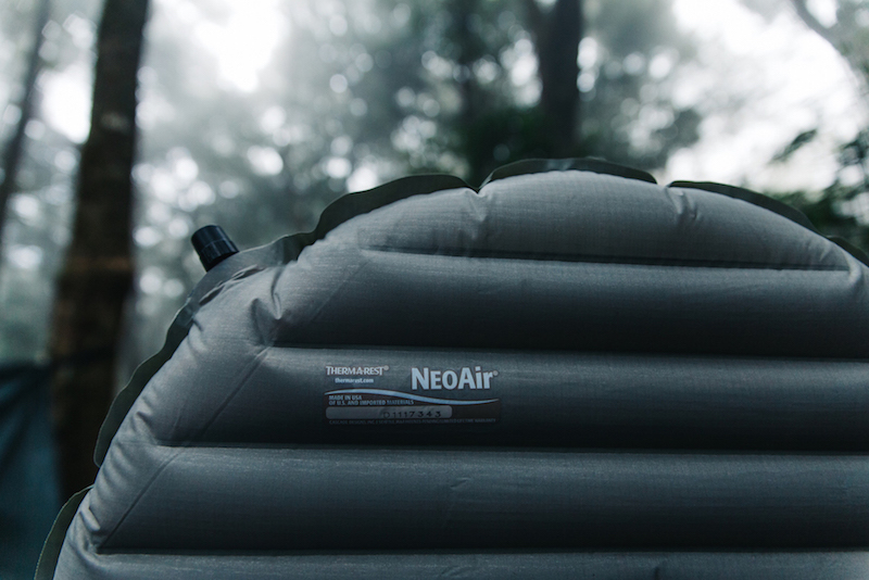 Sleeping mat group review thermarest neoair