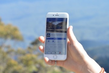 facebook, phone, blue mountains