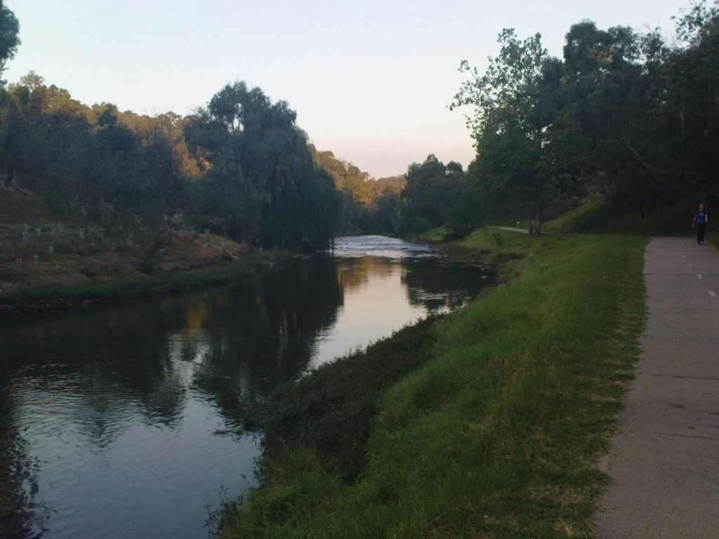 Yarra Bend Barwon Heads Seven Super Sweet Fishing Spots Near Melbourne Mark Kayak riverbank, grass, sky, reflections