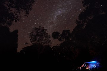 Gabby And Neil Massey // Explorer(s) Of The Month - May '18, Namadgi Stars, astrophotography, night, sky, silhouette trees