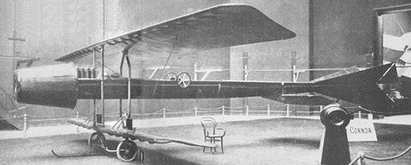 avionul lui Coandă din 1910