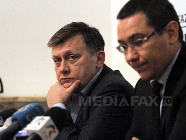 Antonescu: Dacă USL se rupe, cel mai corect ar fi să fie organizate alegeri anticipate (Imagine: Gabriel Petrescu/Mediafax Foto)