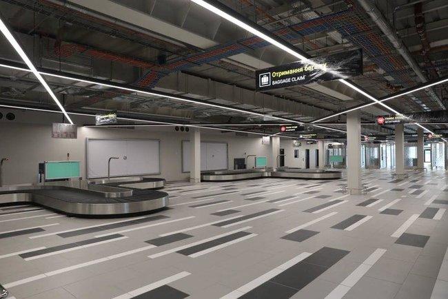 Новый терминал аэропорта Запорожья достроен, - мэр Буряк 08