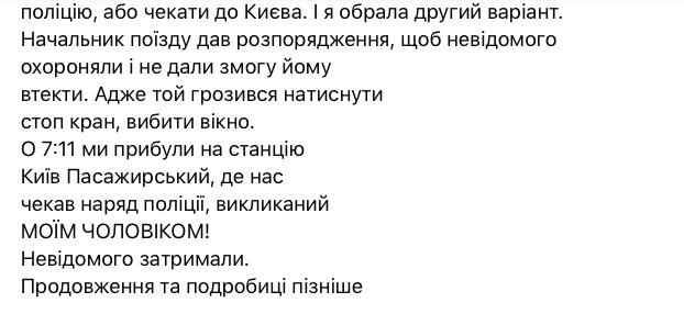 Рудзька, який намагався зґвалтувати пасажирку поїзда Маріуполь-Київ, затримано, - заступник голови МВС Геращенко. ФОТО 05