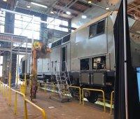 General Electric показала первый локомотив для Украины. ФОТО