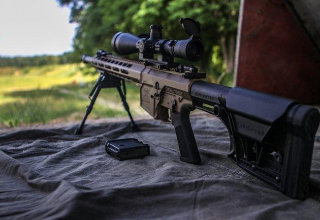 Нову українську снайперську гвинтівку випробували в справі курсанти Академії Нацгвардії 01