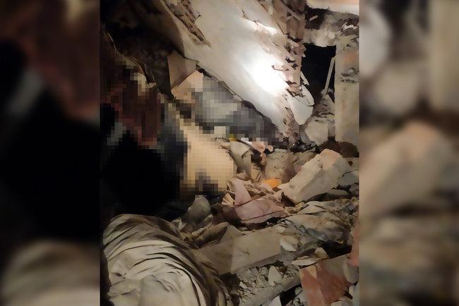 В двухэтажном здании в Кривом Роге разрушилось перекрытие: один человек погиб, еще один госпитализирован, - ГСЧС 01