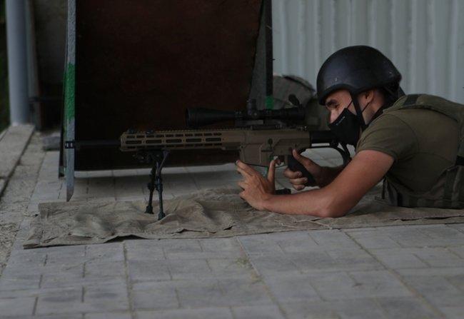 Нову українську снайперську гвинтівку випробували в справі курсанти Академії Нацгвардії 04