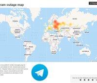 Telegram восстановил работу после сбоя (обновлено)