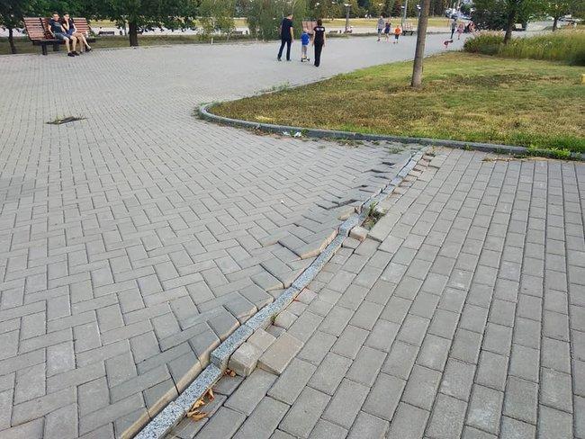 Стан Абхазія: в мережі показали запущену територію біля Донбас Арени 07