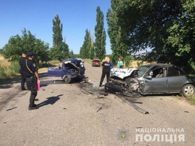 На Николаевщине в ДТП погиб 10-летний мальчик, который находился за рулем 01