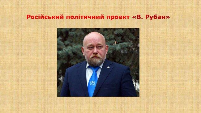 Рубан - российский политический проект: презентация СБУ о деятельности руководителя Офицерского корпуса 01