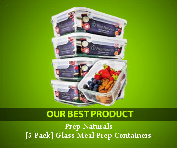 best high-quality leak-proof glass containers