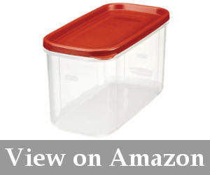 Rubbermaid 10-Cup Dry Food Container (Set of 2) u2013 the best dry food storage containers  sc 1 st  Reviews best chest storage boxes you will love & Best Flour Storage Container in Pantry or Kitchen (September) 2018 ...
