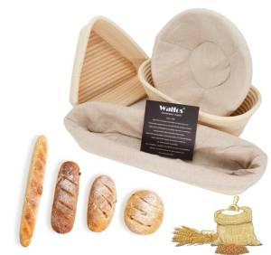 Natural Rattan Bread Basket Kitchen Storage Size : Round S Round L Round XL Round XXL Round XXXL Oval S Oval L Oval XL Oval XXL Oval XXXL Triangle S Triangle L Triangle xL Baguette S Baguette L