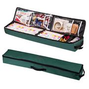 "WRAPAHOLIC Gift Wrapping Paper Storage - 38.6"" L x 7"" W x 4"" H Under Bed"