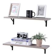 Wall Mounted Floating Shelves, Set of 2