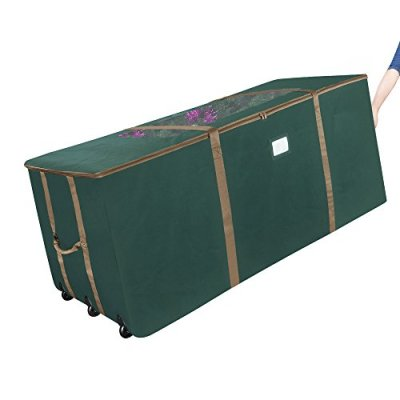 Elf Stor Rolling Christmas Storage Premium Duffel Bag with Wheels