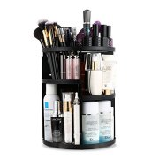 Rotating Vanity Organizer and Storage Box, 360°