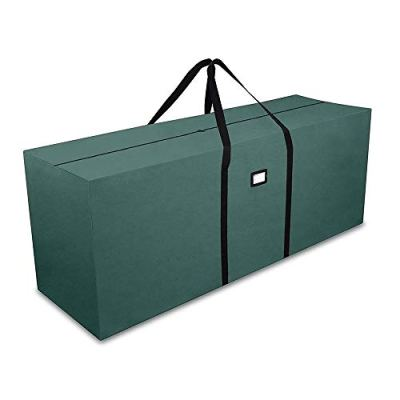 """Primode Holiday Tree Storage Bag, Heavy Duty Storage Container, 25"""" Height X 20"""" Wide X 65"""" Long (Green)"""