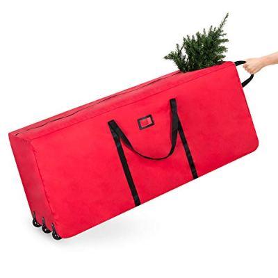 Rolling Duffel Holiday Decoration Storage Bag