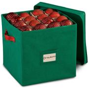 Christmas Ornament Storage Box with Removable lid
